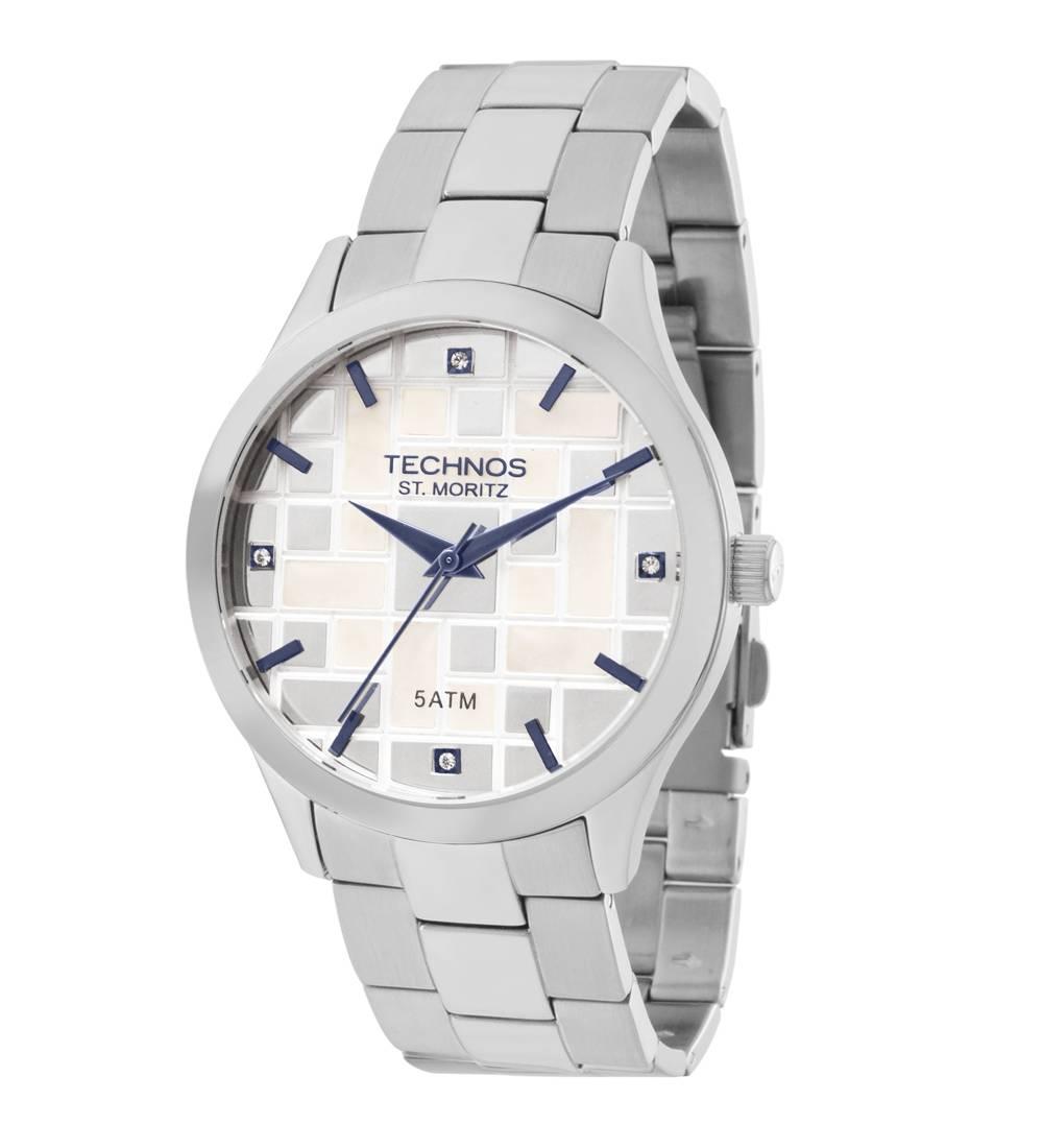 Relógio Technos Elegance ST. MORITZ Quartz 2039BB/1B