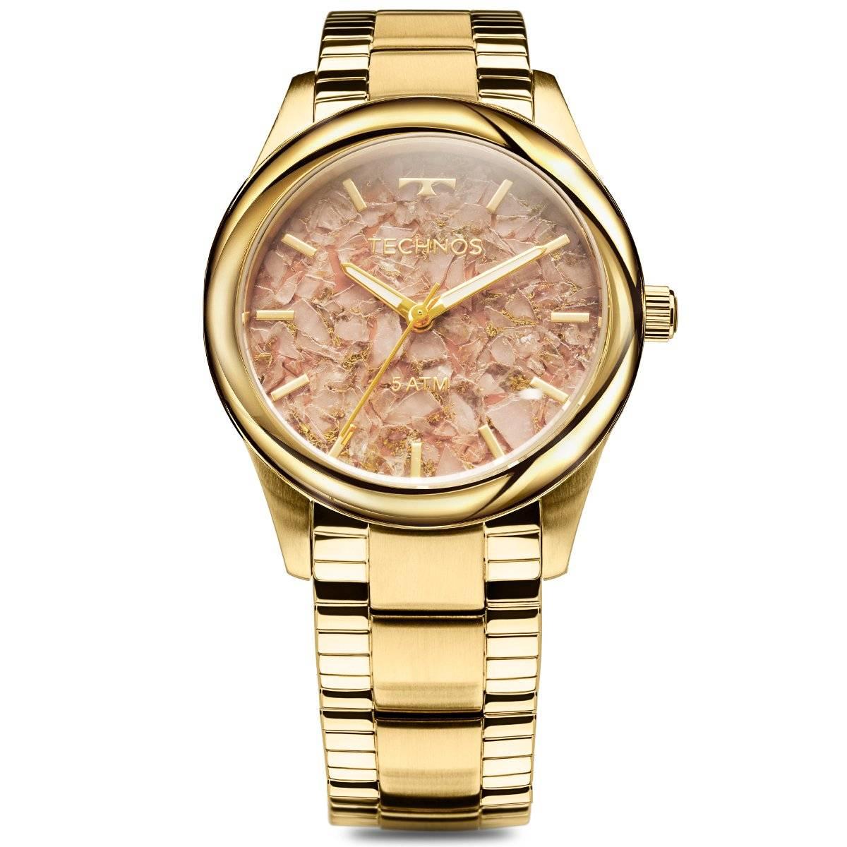 Relógio Technos Elegance Stone Collection Feminino Quartz 2033CN/4T