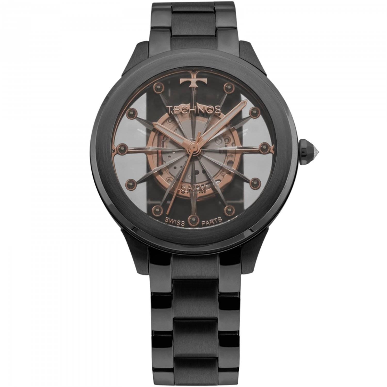 Relógio Technos Essence Elegance Crystal Feminino Quartz F03101AC/4W
