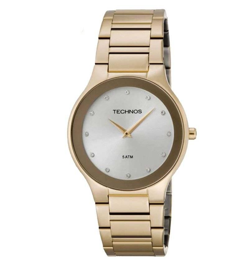 Relógio Technos Feminino Classic Slim 1L22EN/4K