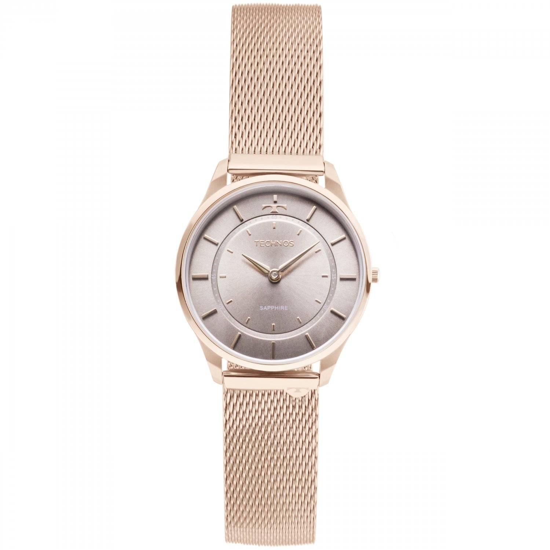 Relógio Technos Feminino Classic Slim QUARTZ 9T22AL/4C