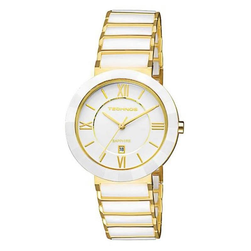 Relógio Technos Feminino Elegance Ceramic Quartz 2015CE/4B