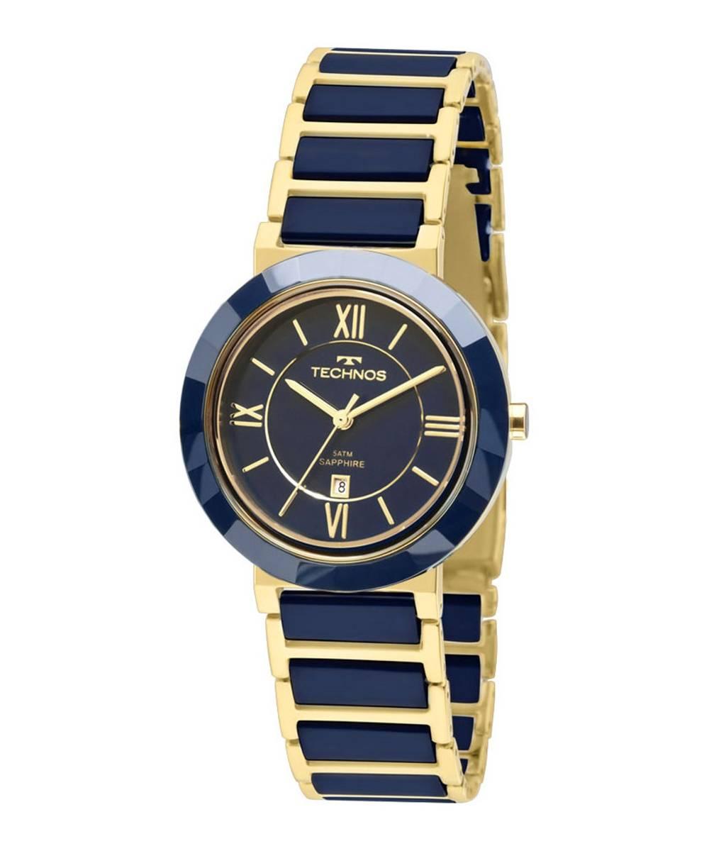 Relógio Technos Feminino Elegance Ceramic Sapphire Quartz 2015CE/5A