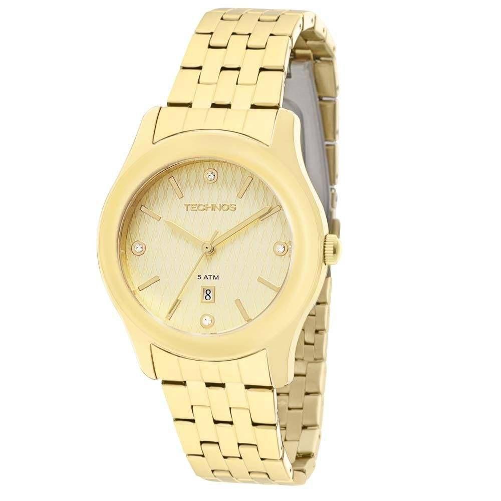 Relógio Technos Kit Elegance Ladies Feminino Quartz 2015BZY/K4X
