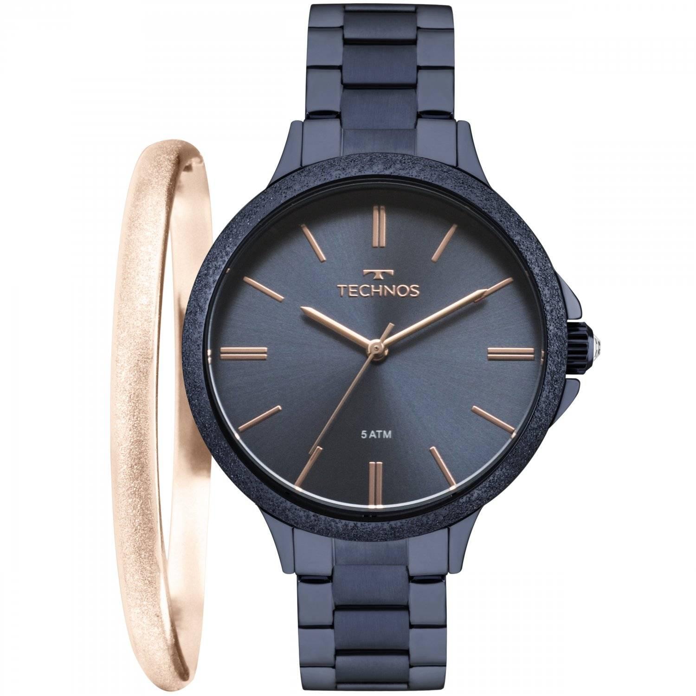 Relógio Technos Kit Fashion Trend Feminino Quartz 2035MME/K4A