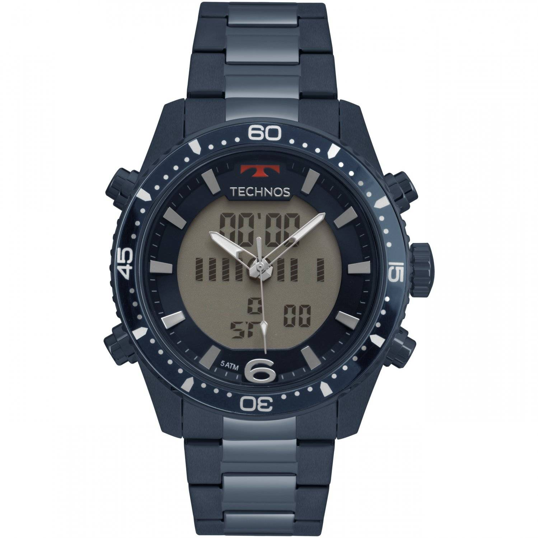Relógio Technos Masculino Anadigi Quartz BJK203AAE/4A