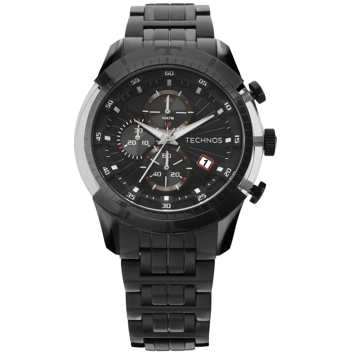 Relógio Technos Performance TS Carbon Masculino Quartz JS15EQ/4P