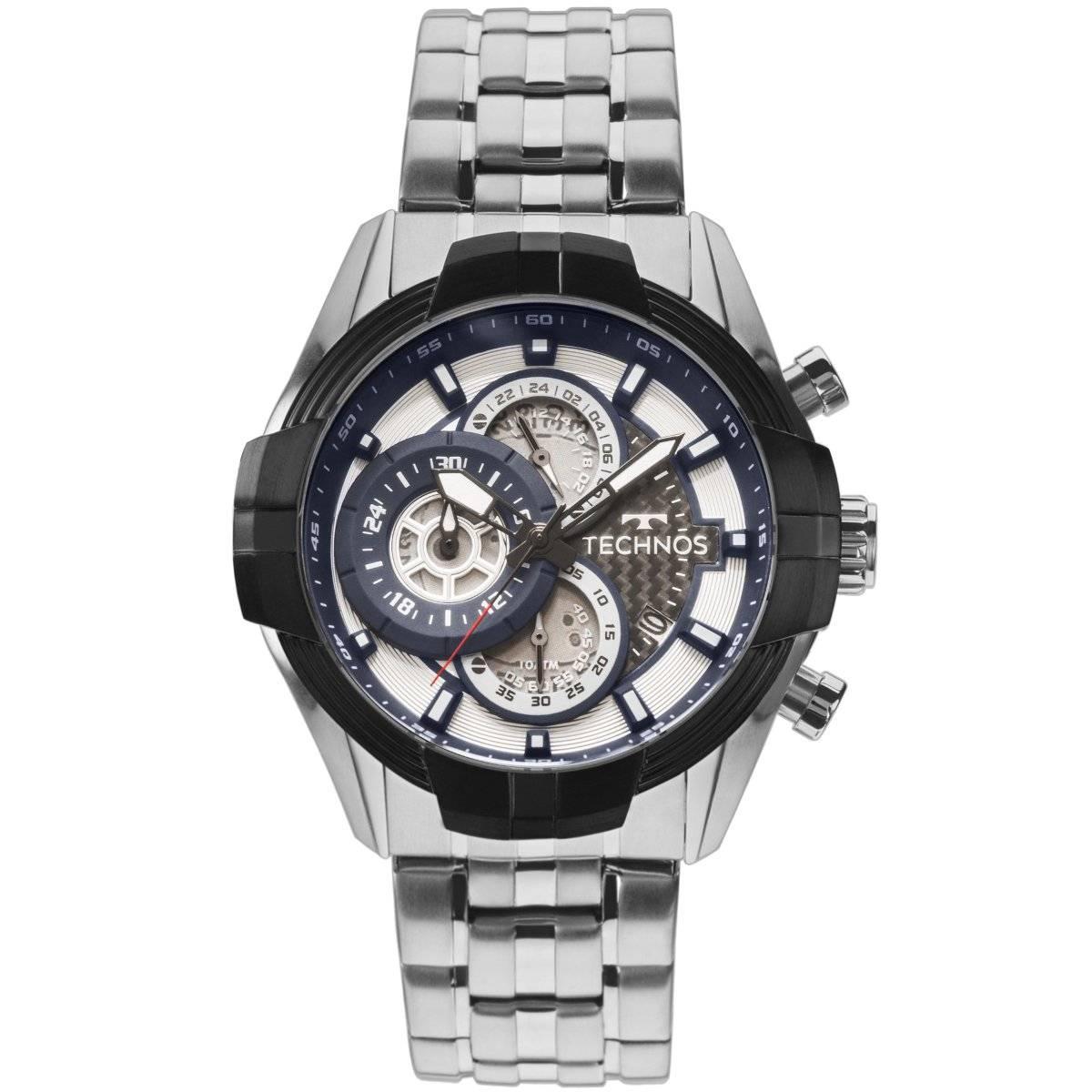 Relógio Technos Performance TS Carbon Quartz JS15EV/1P