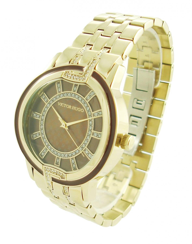 Relógio Victor Hugo Feminino Quartz VH10125LSG/40M