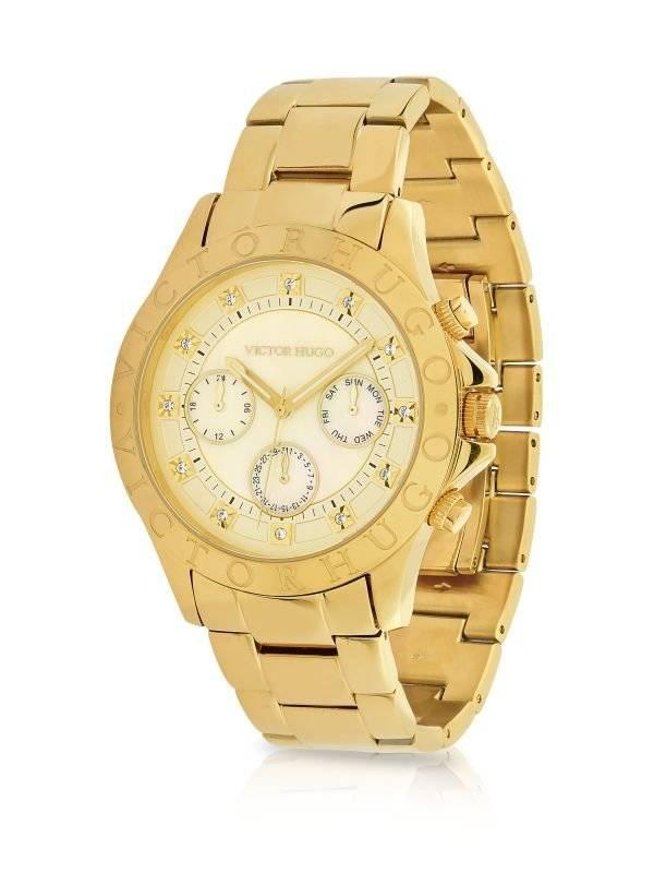Relógio Victor Hugo Feminino Quartz VH10155LSG/54M