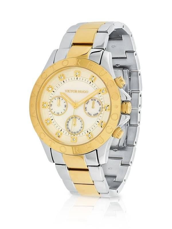 Relógio Victor Hugo Feminino Quartz VH10155LSSG/28M
