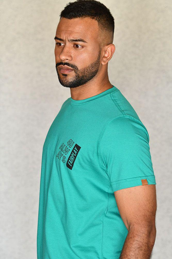 Camiseta 4U Always Verde
