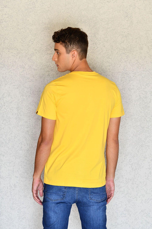Camiseta I Don't Care Amarela