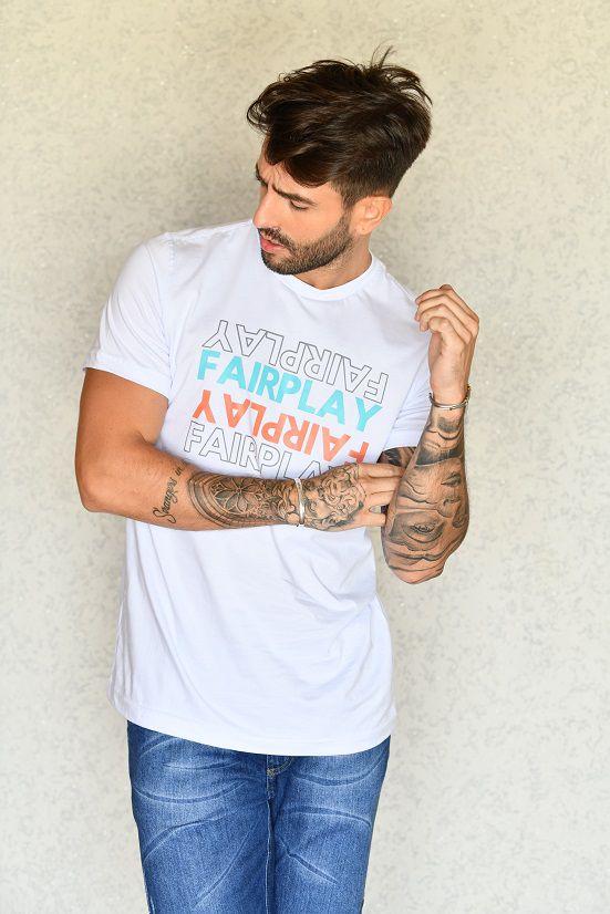 Camiseta Mirror Branca