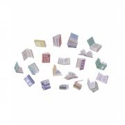 Saquinho de adesivos - Livros