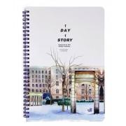 Caderno B5 Inverno