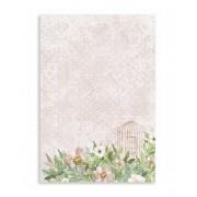 Caderno Floral Rose