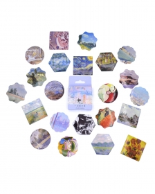 Caixinha de adesivos - Art Gallery
