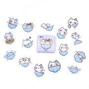 Caixinha de adesivos - Cat bowl