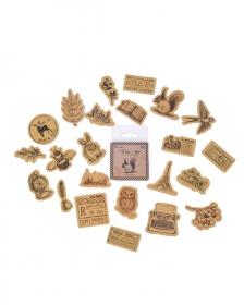 Caixinha de adesivos - Craft