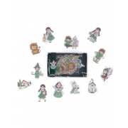 Caixinha de adesivos Fairytale - Mágico de Oz