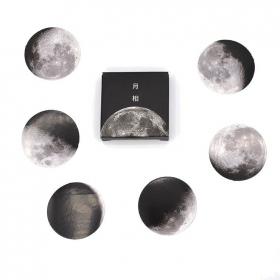 Caixinha de adesivos - Lua