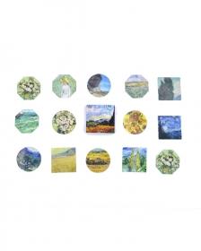 Caixinha de adesivos - Van Gogh