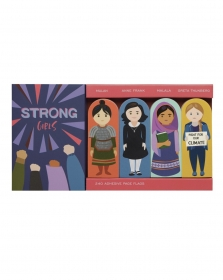 Flags personagens clássicos - Strong Girls