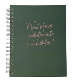 IMPERFEITOS Planner permanente  - Planos imperfeitos