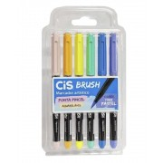 Kit de caneta brush cis pastel