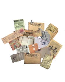 Kit de papéis Memórias