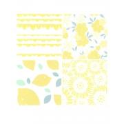 Kit de papel vegetal yellow