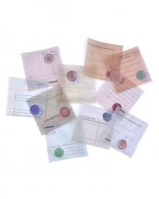 Kit de rótulos em papel vegetal - Old Letters