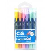 Marca texto Cis Lumini Gel Pastel