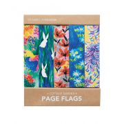 Page flags - Cottage Garden