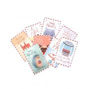 Postal - Cute Xmas