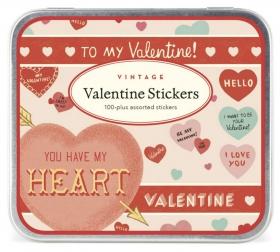 PRÉ-VENDA LINHA SPECIALS  Conjunto de Adesivos Valentine (LEIA A DESCRIÇÃO)