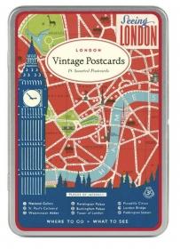 PRÉ-VENDA LINHA SPECIALS Postais Vintage London (LEIA A DESCRIÇÃO)