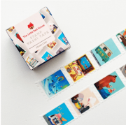 LINHA SPECIALS Washi tape Animals stamp and Activities stamp