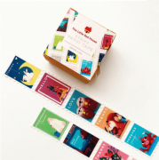 LINHA SPECIALS - Washi tape Animals Stamp