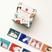 LINHA SPECIALS - Washi tape Bunnies Stamp
