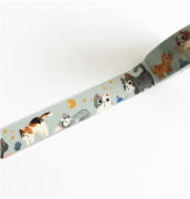 LINHA SPECIALS - Washi tape Cats