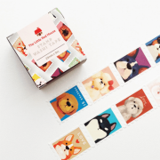 LINHA SPECIALS - Washi tape Dogs Stamp
