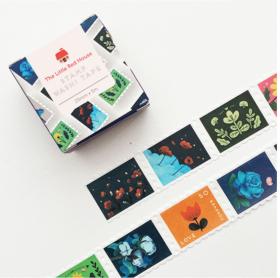 LINHA SPECIALS - Washi tape Floral stamp