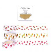 Trio de Washi tapes - Frutinhas