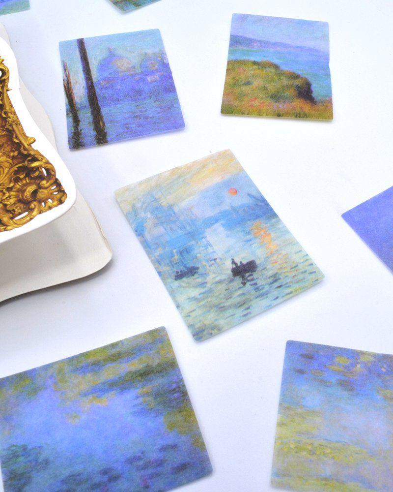 Adesivo artistas - Monet