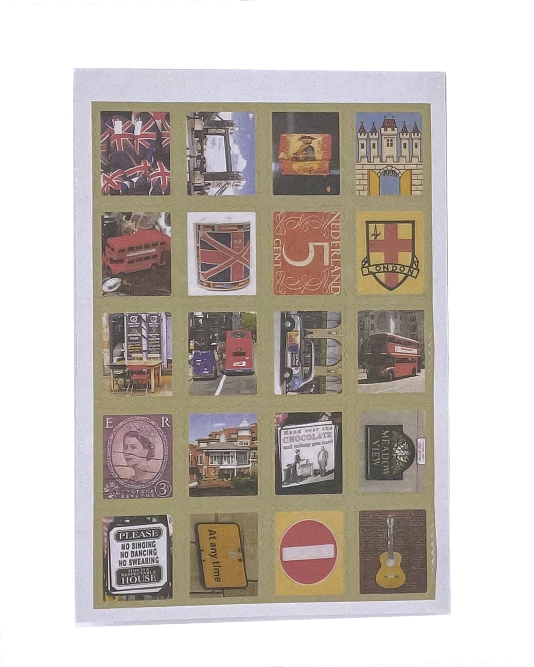 Adesivo - London Stamps