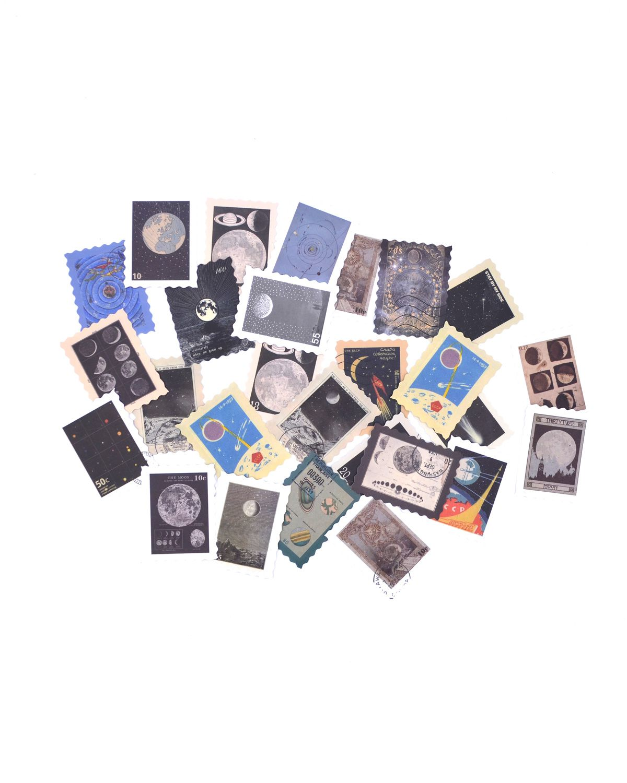 Adesivos - Lunar stamp