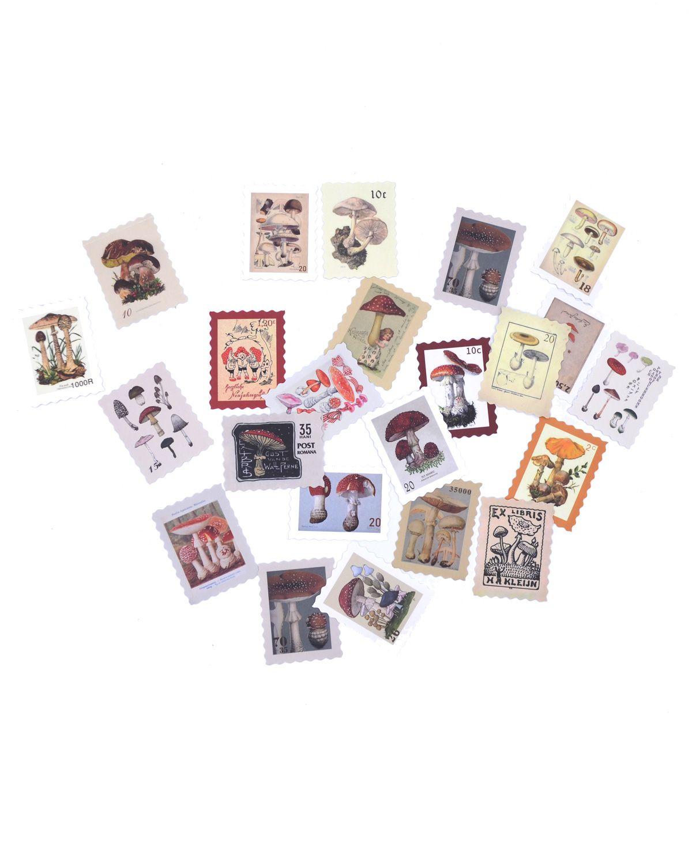 Adesivos - Mushroom stamp