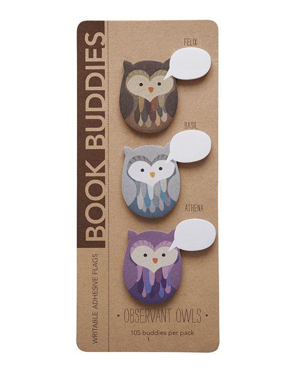 Book Buddies - Coruja